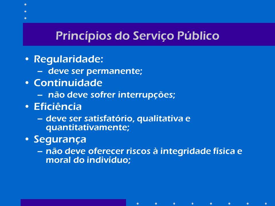 Princípios do Serviço Público