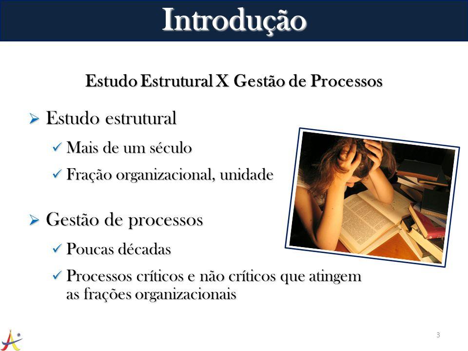 Estudo Estrutural X Gestão de Processos