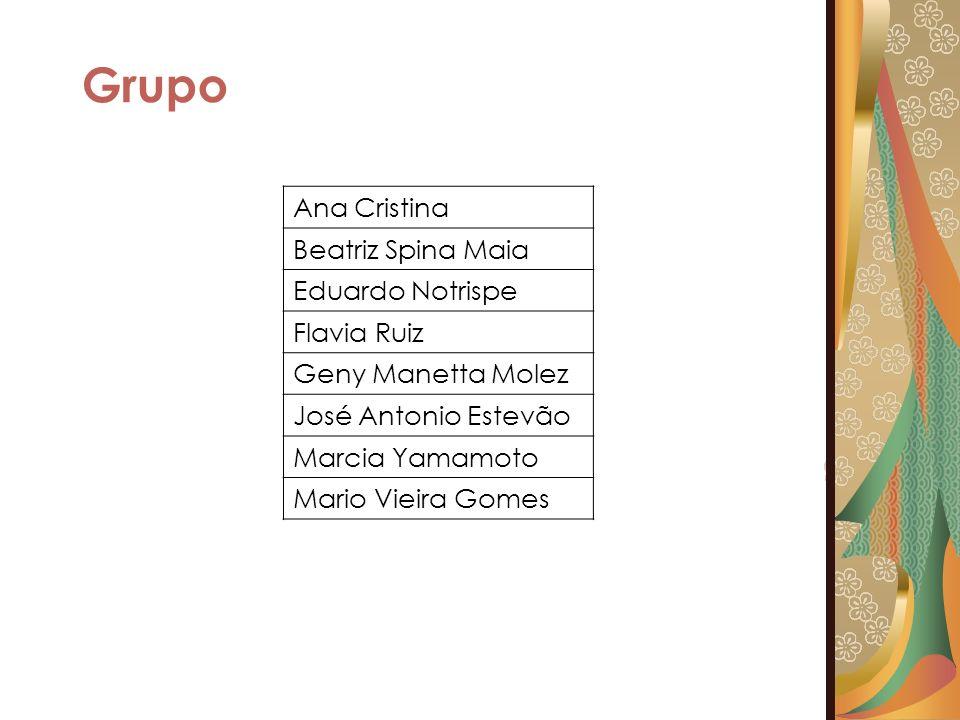 Grupo Ana Cristina Beatriz Spina Maia Eduardo Notrispe Flavia Ruiz