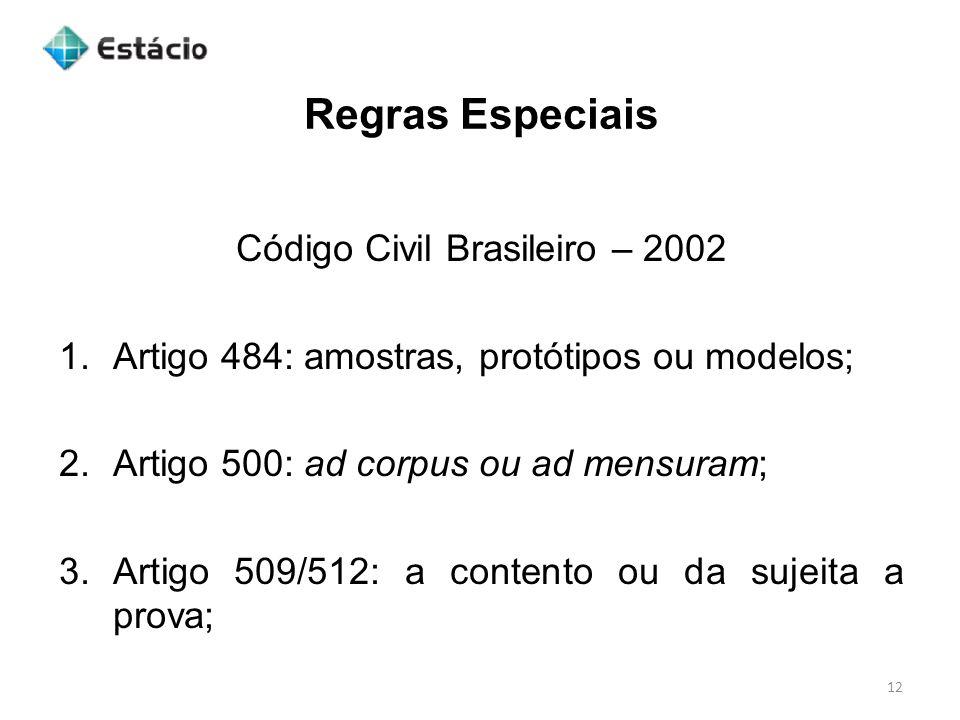 Código Civil Brasileiro – 2002