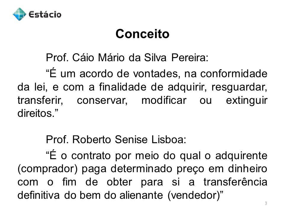 Conceito Prof. Cáio Mário da Silva Pereira: