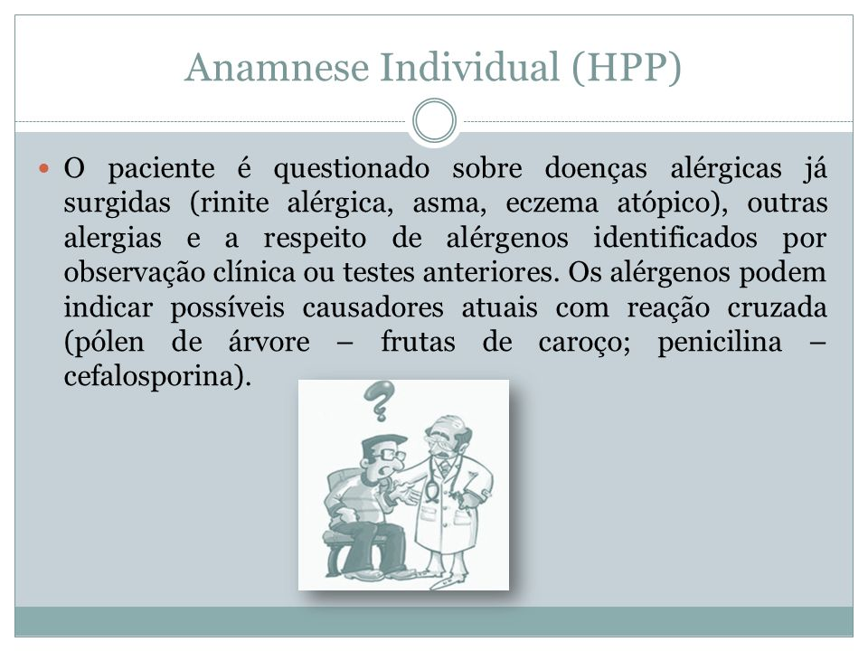 Anamnese Individual (HPP)