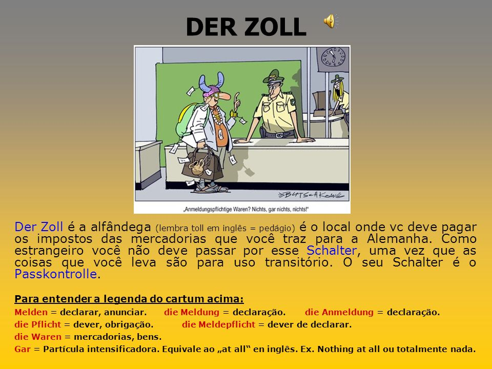 DER ZOLL