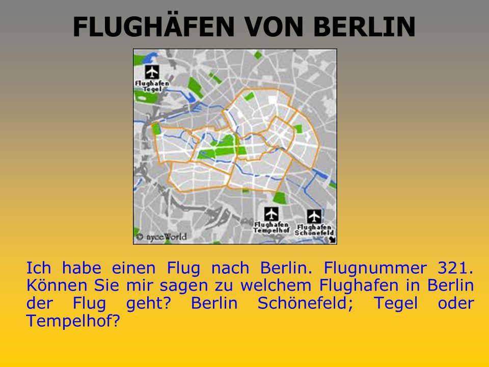 FLUGHÄFEN VON BERLIN