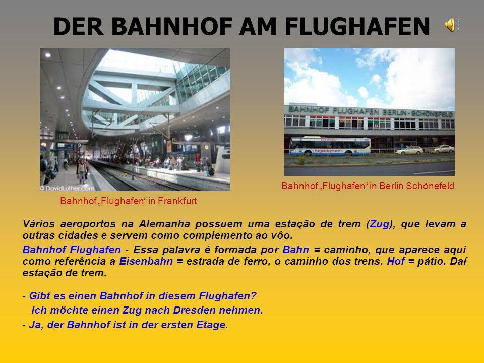 DER BAHNHOF AM FLUGHAFEN