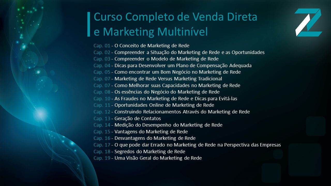 Curso Completo de Venda Direta e Marketing Multinível