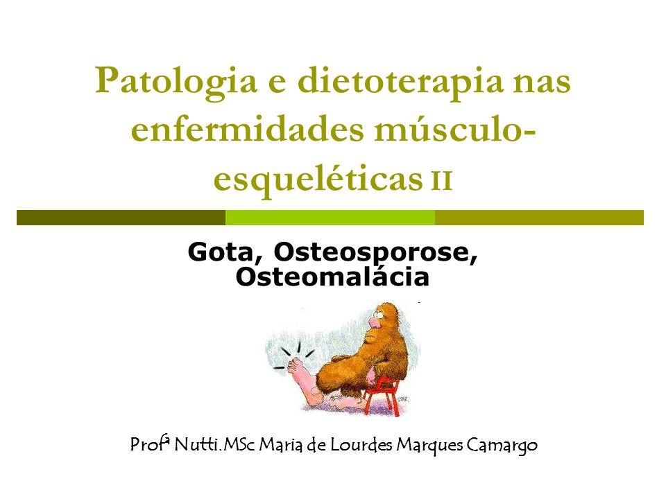 Patologia e dietoterapia nas enfermidades músculo-esqueléticas II