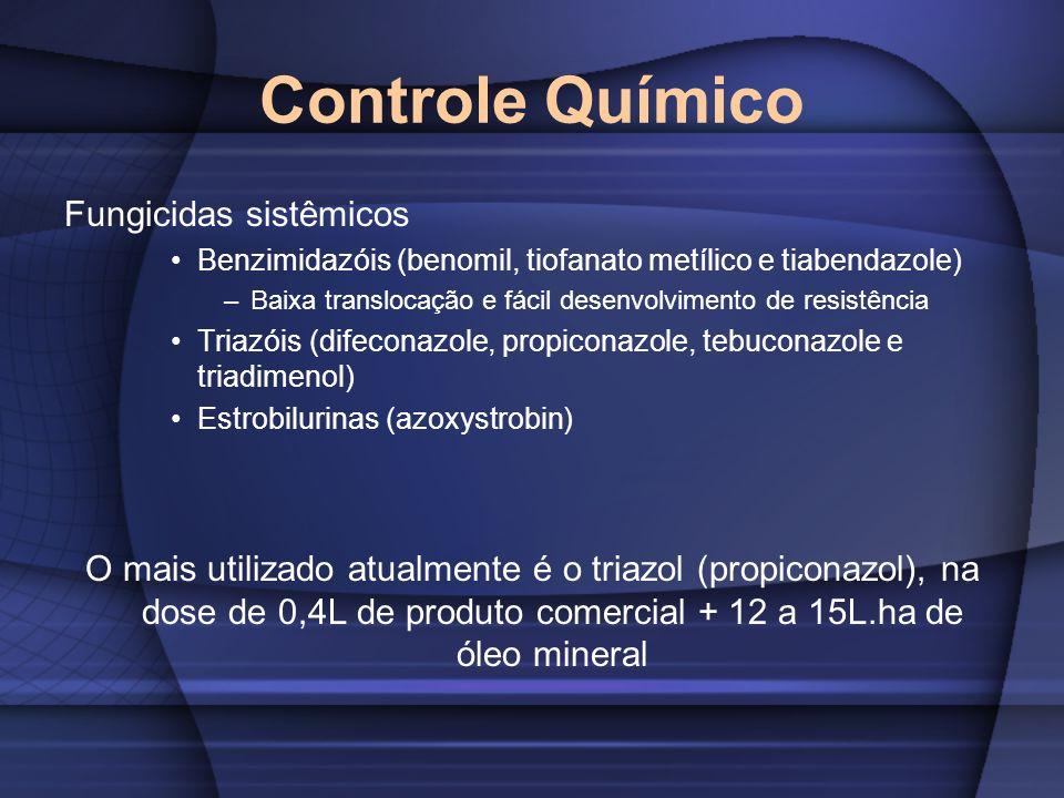 Controle Químico Fungicidas sistêmicos