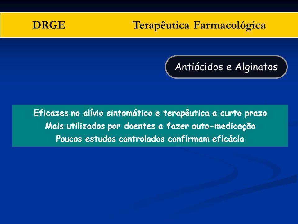 DRGE Terapêutica Farmacológica