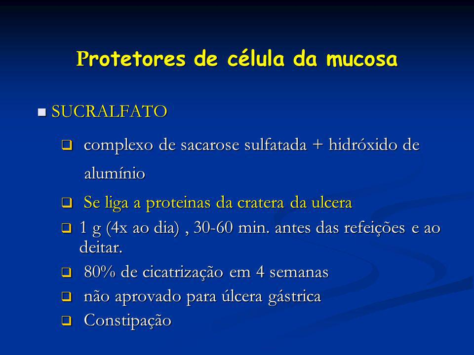 Protetores de célula da mucosa