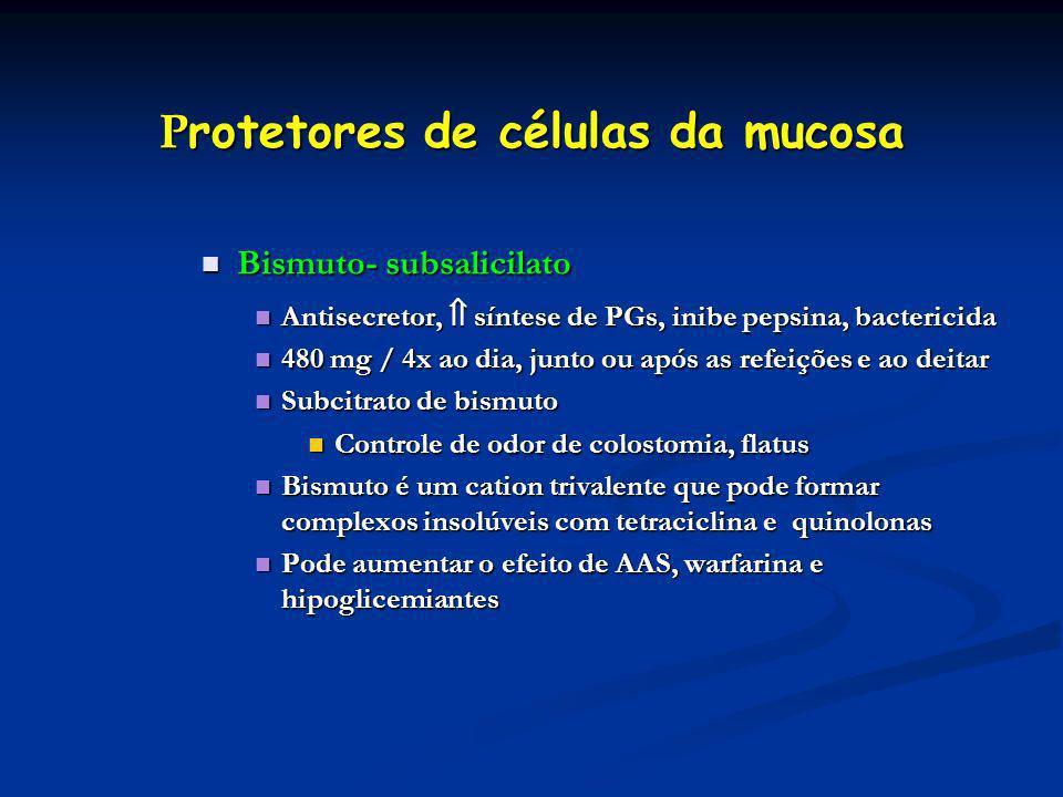 Protetores de células da mucosa