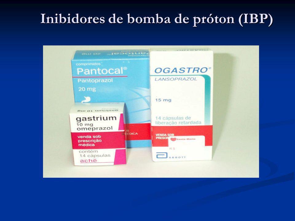 Inibidores de bomba de próton (IBP)