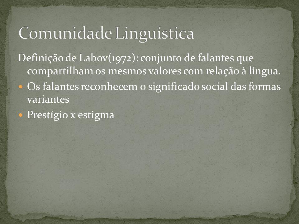 Comunidade Linguística