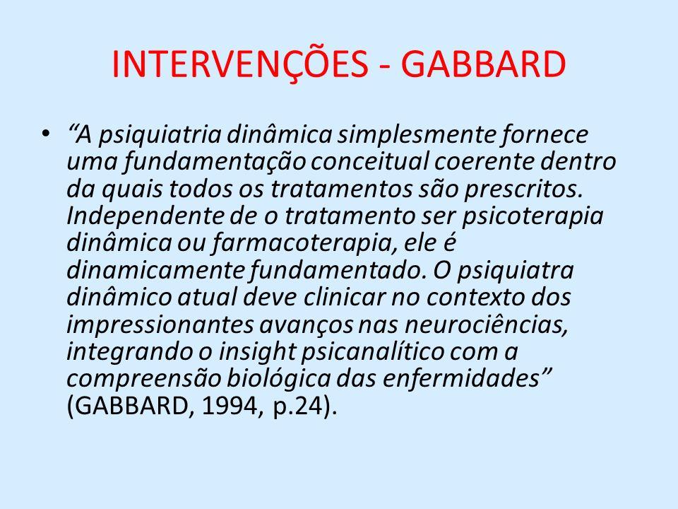 INTERVENÇÕES - GABBARD