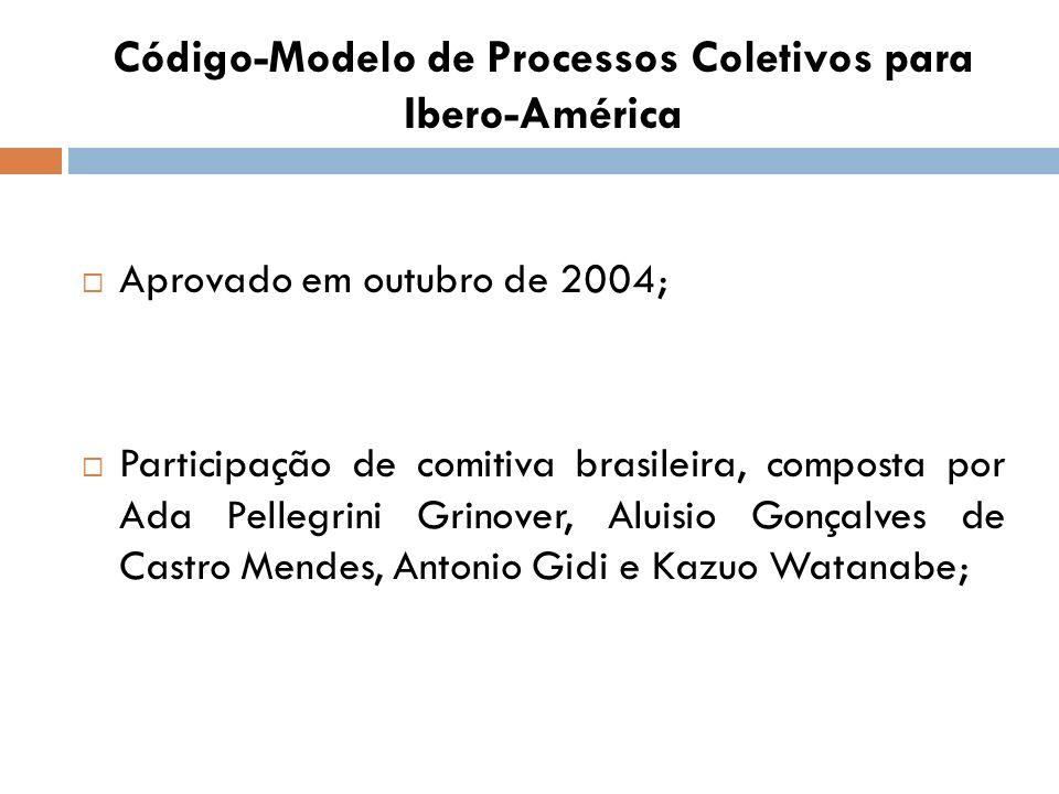 Código-Modelo de Processos Coletivos para Ibero-América