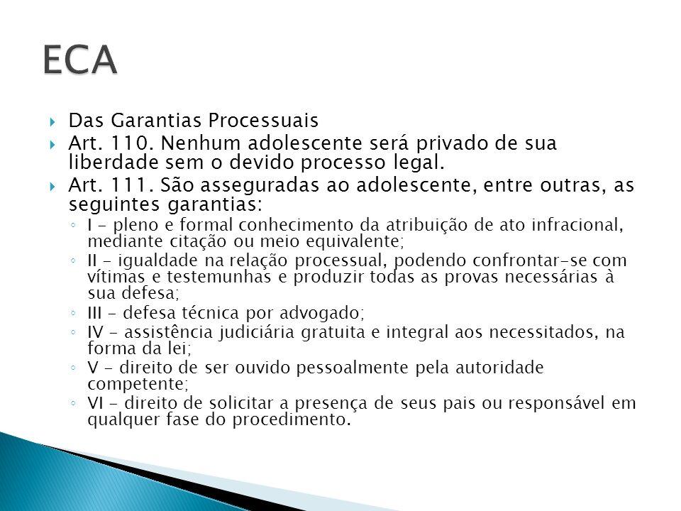 ECA Das Garantias Processuais