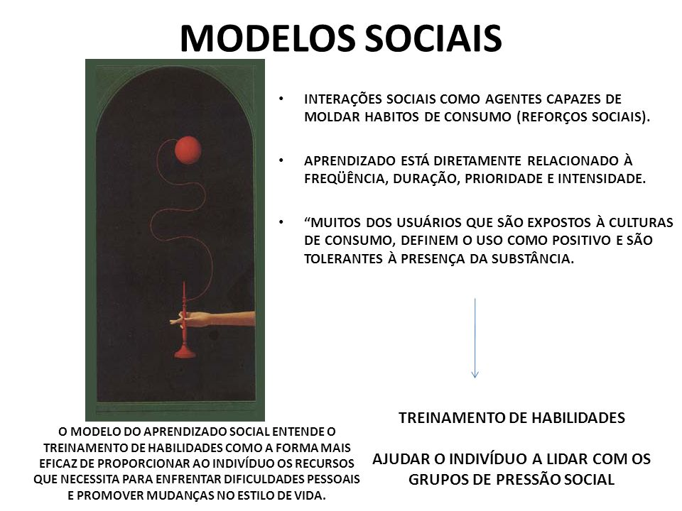 MODELOS SOCIAIS TREINAMENTO DE HABILIDADES
