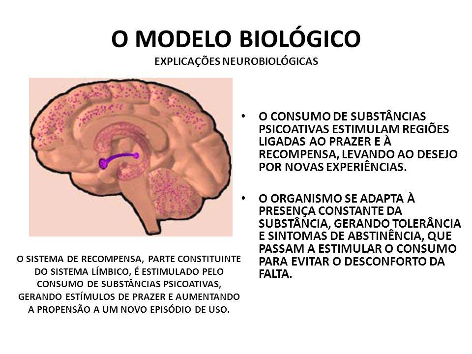 O MODELO BIOLÓGICO EXPLICAÇÕES NEUROBIOLÓGICAS