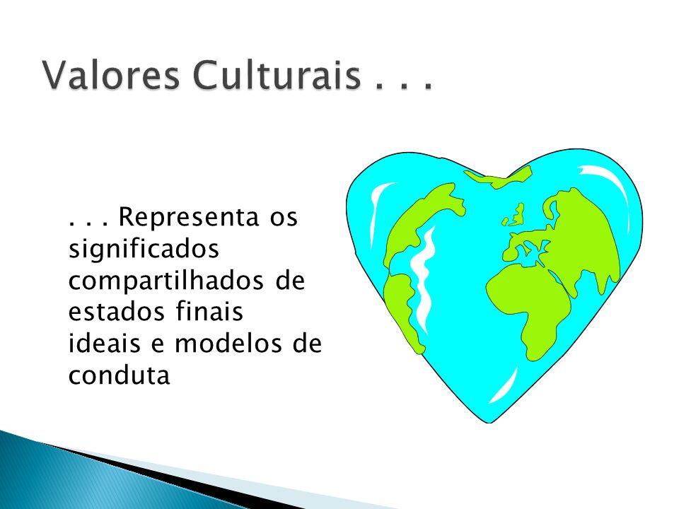 Valores Culturais ...