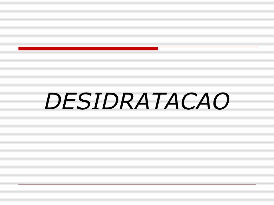 DESIDRATACAO