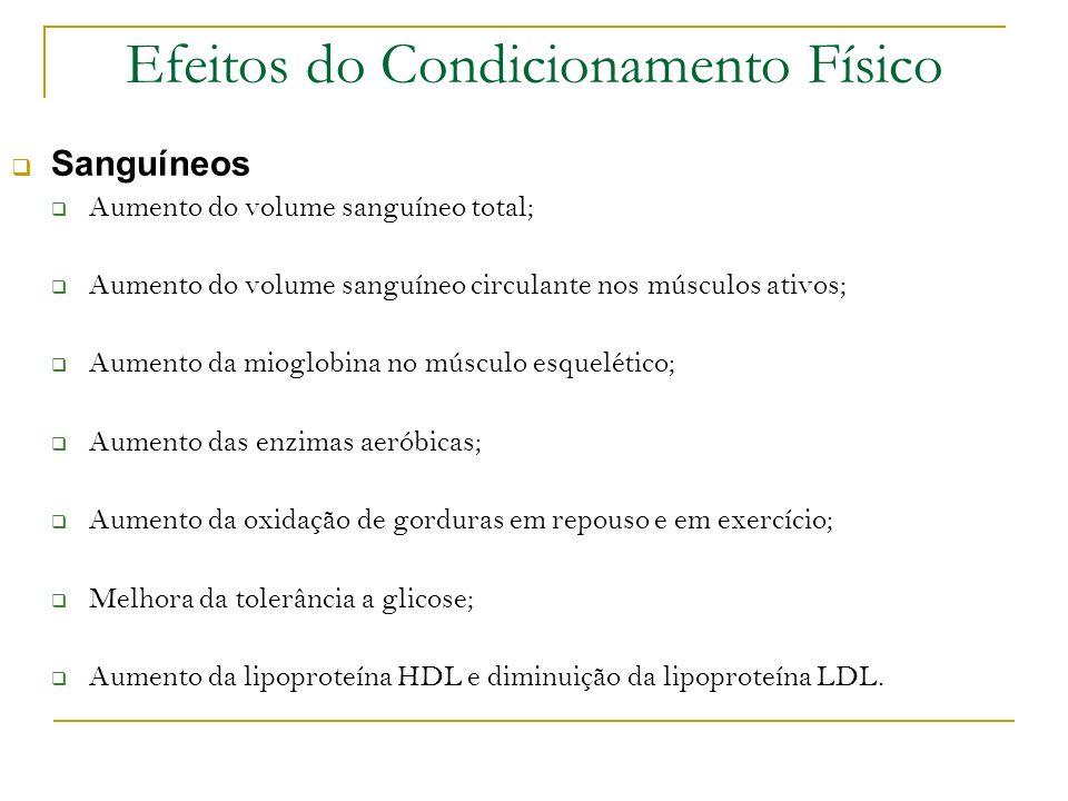 Efeitos do Condicionamento Físico