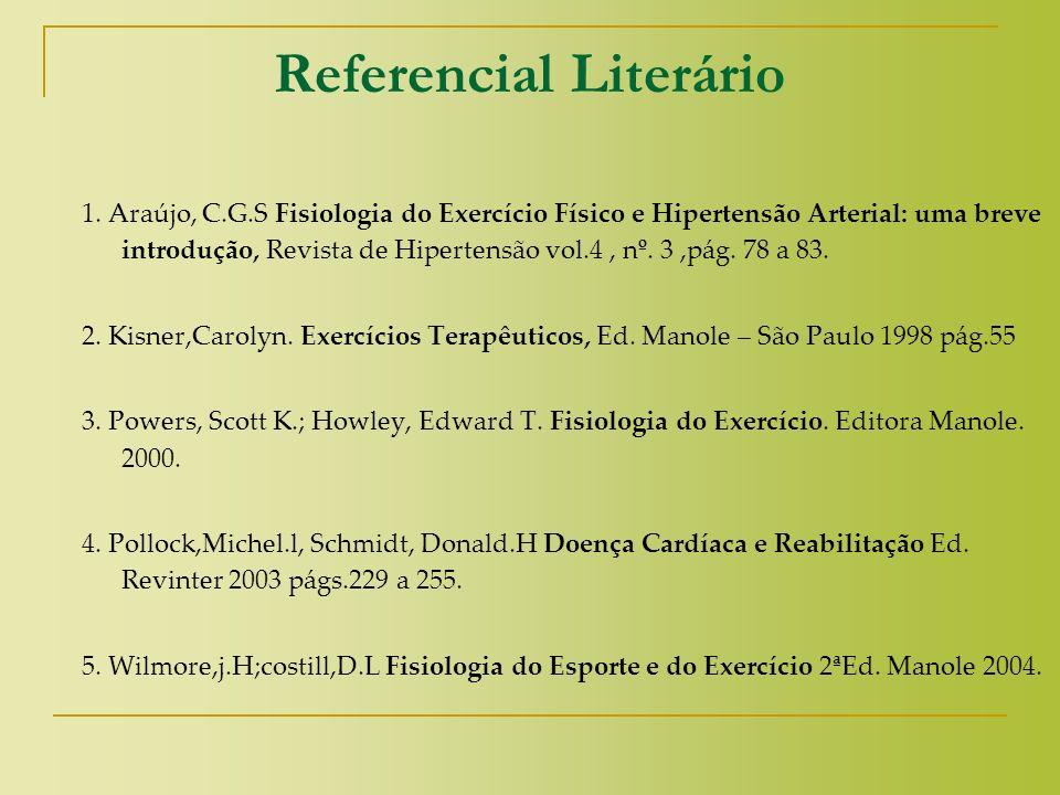 Referencial Literário