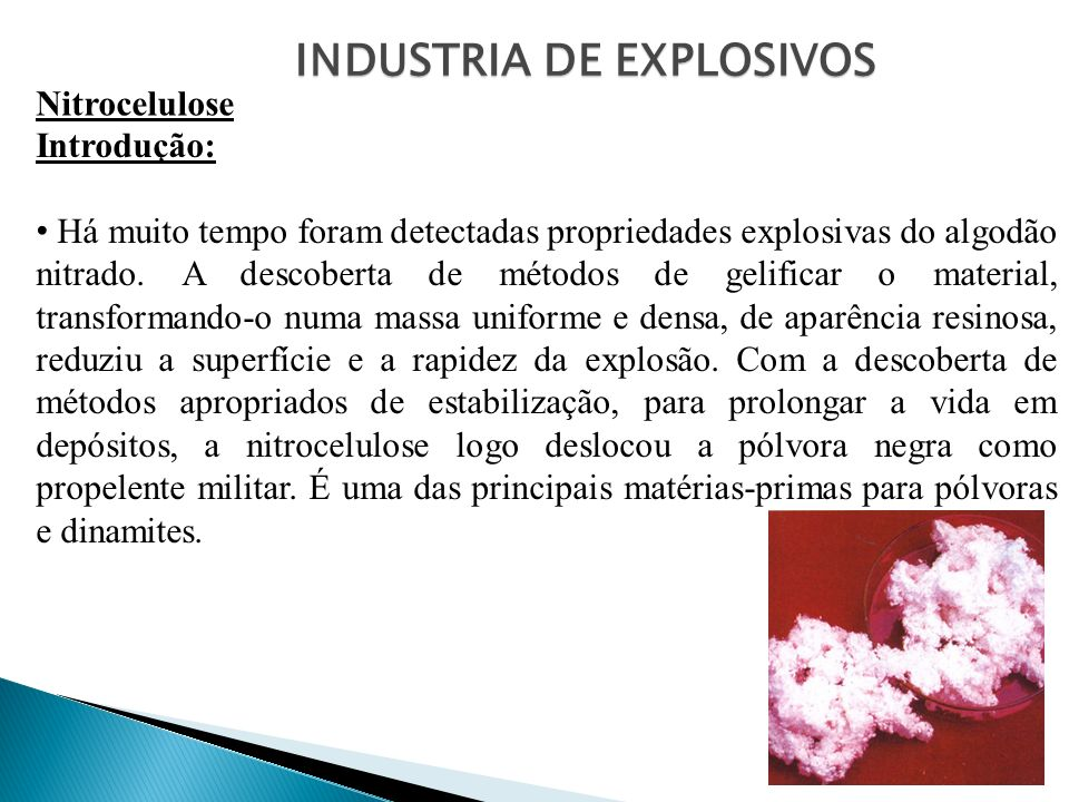 INDUSTRIA DE EXPLOSIVOS