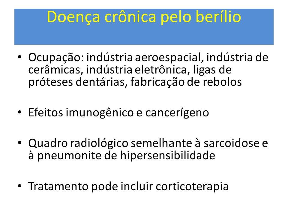 Doença crônica pelo berílio