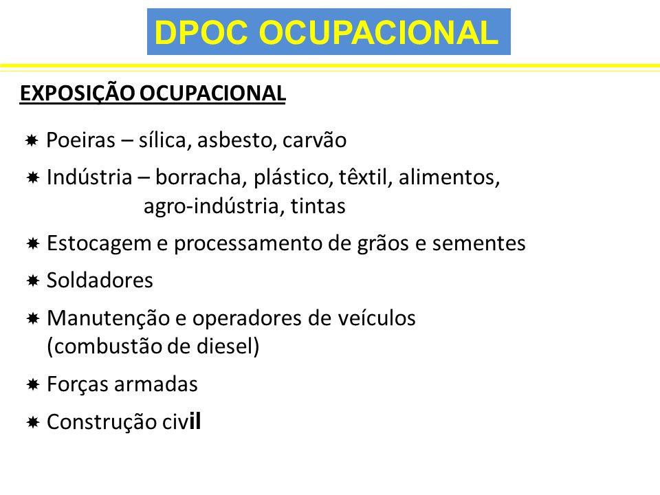 DPOC OCUPACIONAL EXPOSIÇÃO OCUPACIONAL