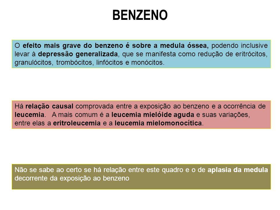 BENZENO Fundamentação Legal = Ordem de Serviço INSS/DSS NO 607, de 05/08/1998.