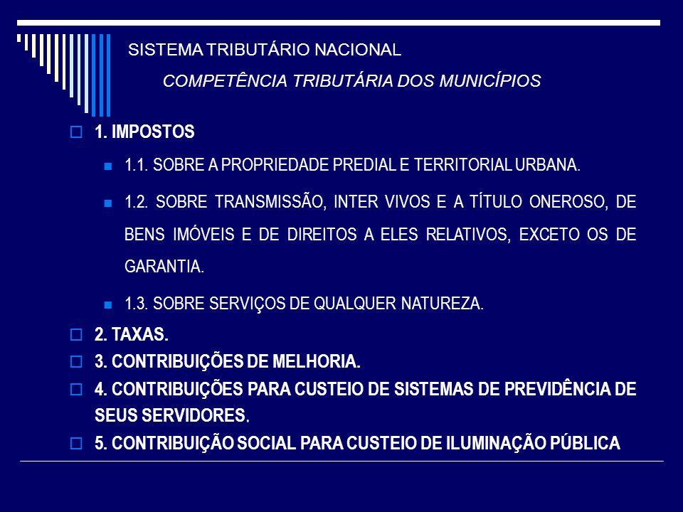3. CONTRIBUIÇÕES DE MELHORIA.