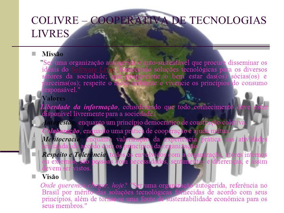 COLIVRE – COOPERATIVA DE TECNOLOGIAS LIVRES