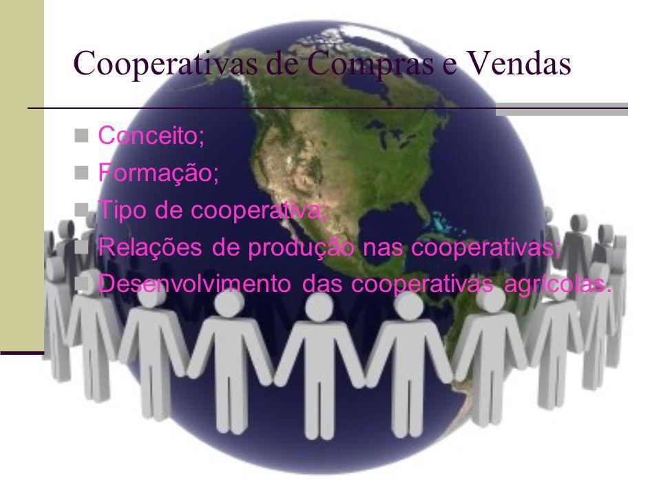 Cooperativas de Compras e Vendas