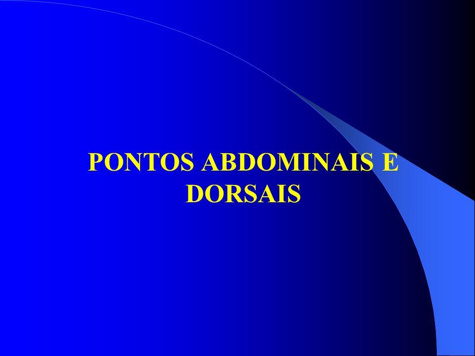 PONTOS ABDOMINAIS E DORSAIS
