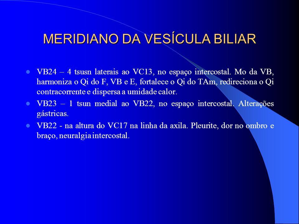 MERIDIANO DA VESÍCULA BILIAR