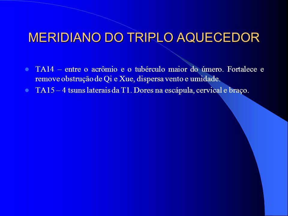 MERIDIANO DO TRIPLO AQUECEDOR