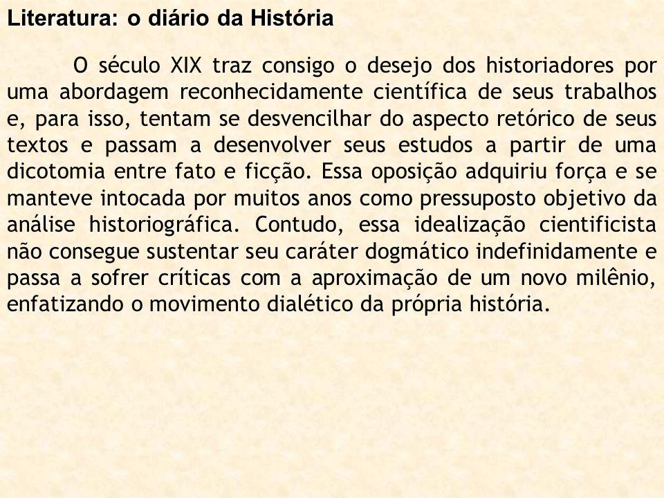 Literatura: o diário da História