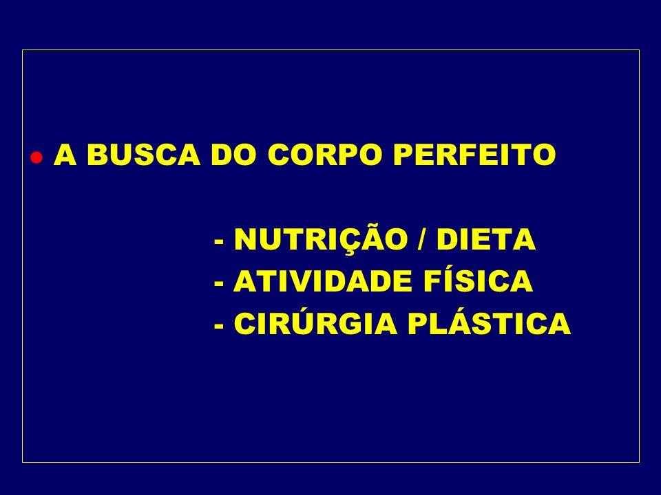 A BUSCA DO CORPO PERFEITO