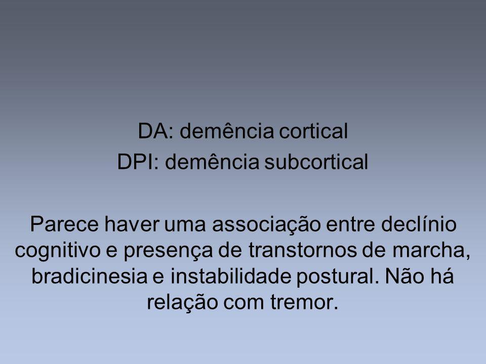 DPI: demência subcortical
