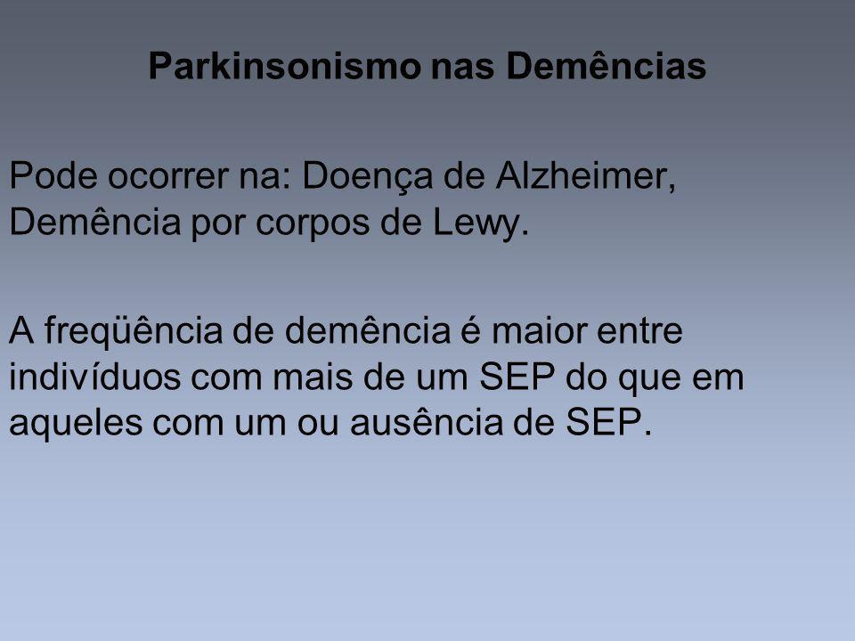 Parkinsonismo nas Demências