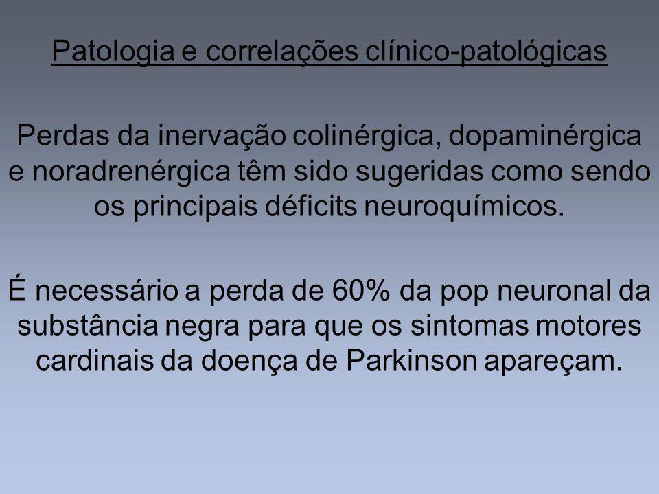 Patologia e correlações clínico-patológicas