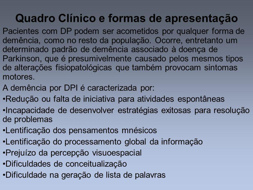 Quadro Clínico e formas de apresentação