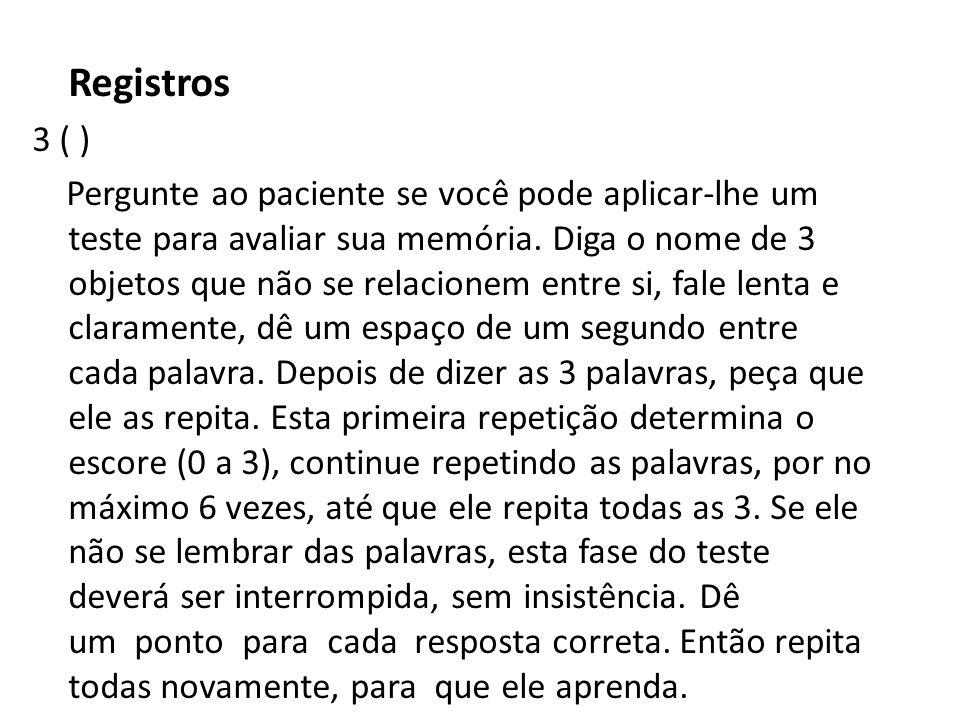 Registros 3 ( )