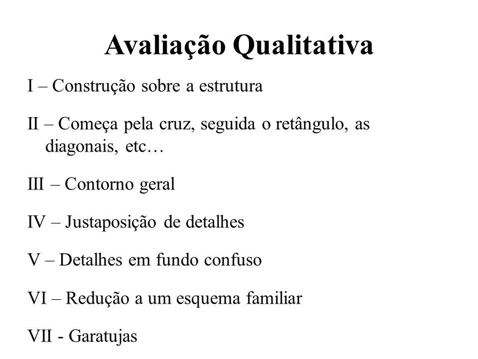Avaliação Qualitativa