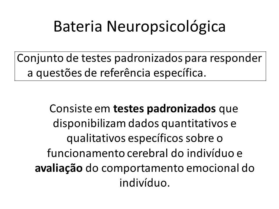 Bateria Neuropsicológica