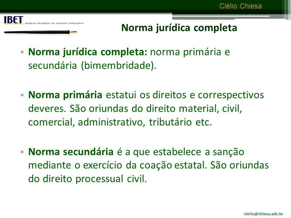 Norma jurídica completa