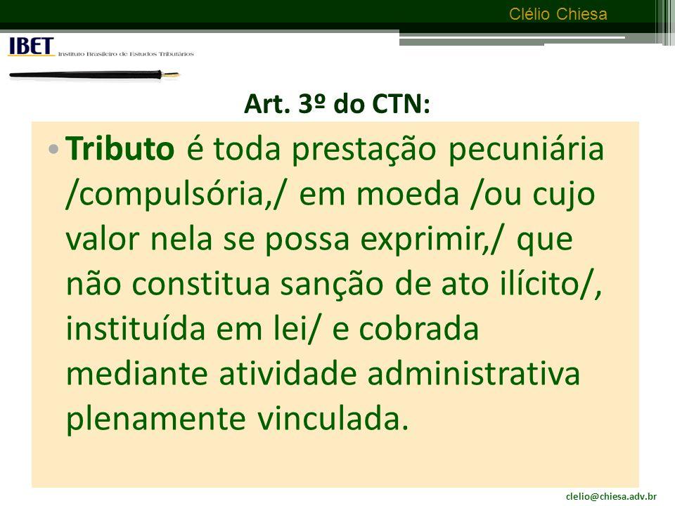Art. 3º do CTN: