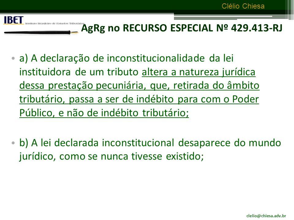 AgRg no RECURSO ESPECIAL Nº 429.413-RJ
