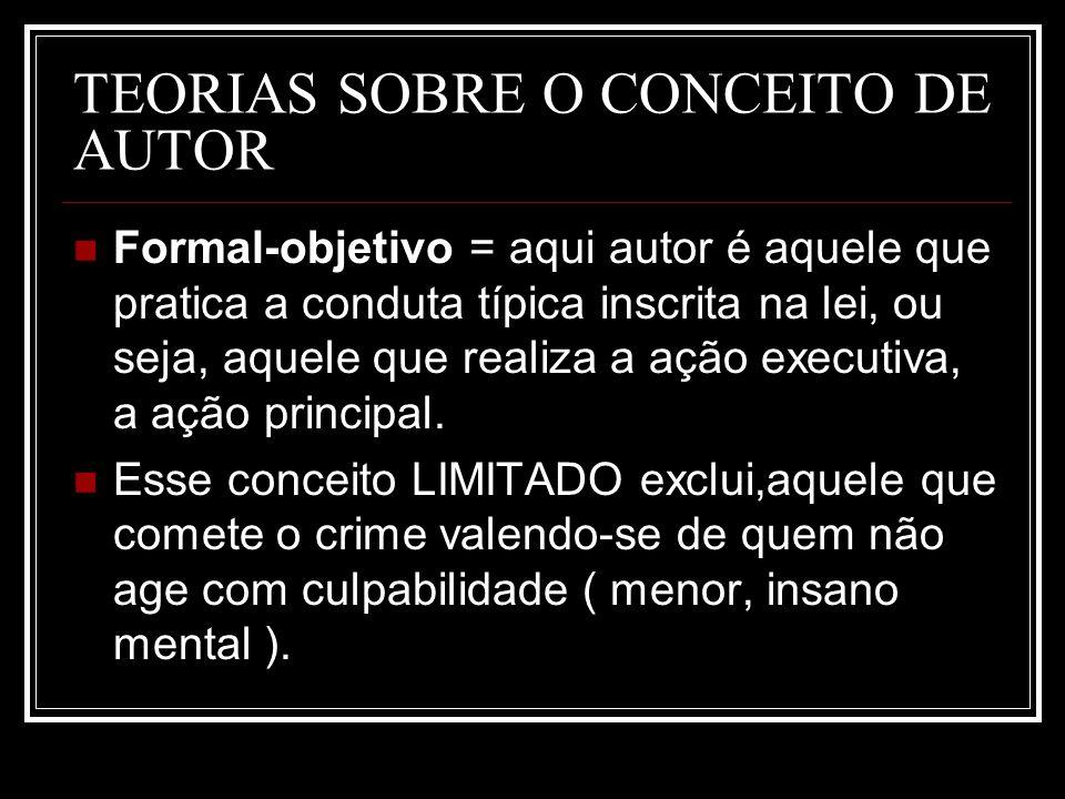 TEORIAS SOBRE O CONCEITO DE AUTOR