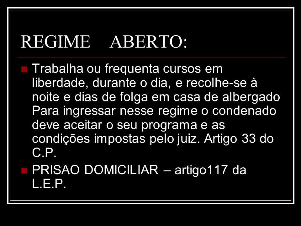 REGIME ABERTO: